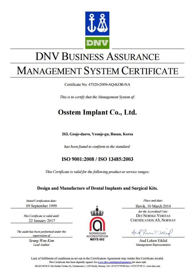 Osstem-implant-ISO
